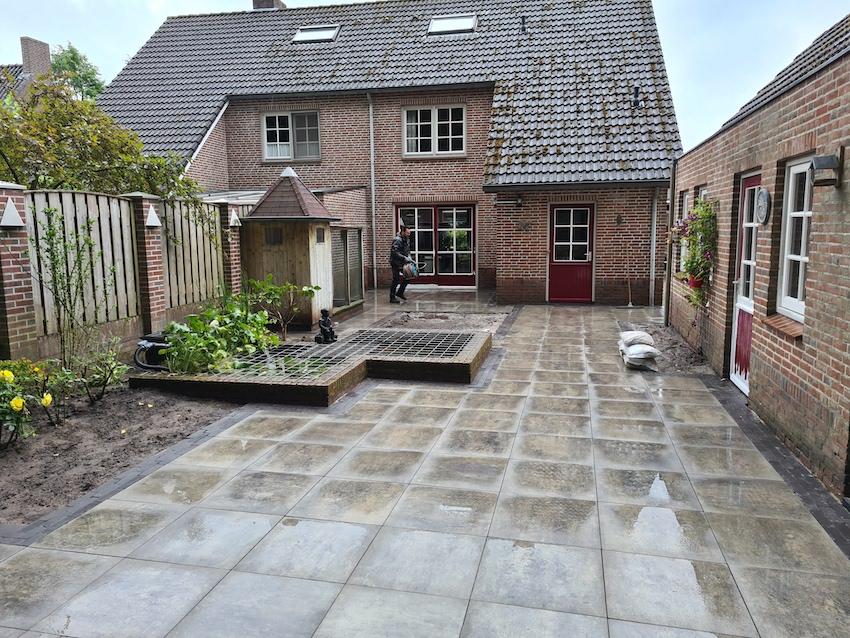 Aanleg achtertuin Westerhoven 2